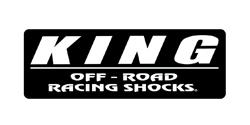 King Shocks Australia Black Sitcker Logo